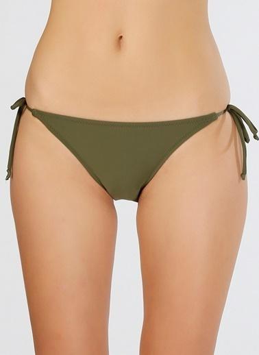 T-Box İpli Bikini Altı Haki